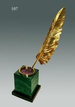 Образец сувенира «Золотое перо»